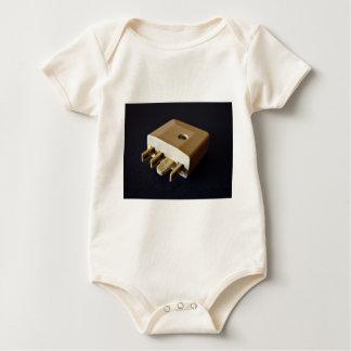 Telephone plug to standard RJ-11 adaptor Baby Bodysuit