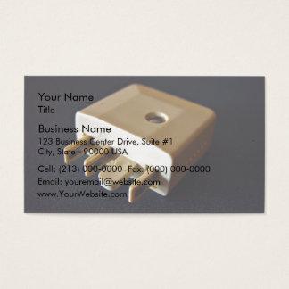 Telephone plug to standard RJ-11 adaptor Business Card