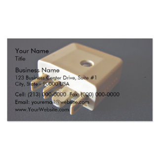 Telephone plug to standard RJ-11 adaptor Double-Sided Standard Business Cards (Pack Of 100)