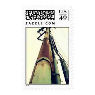 Telephone Pole Stamp