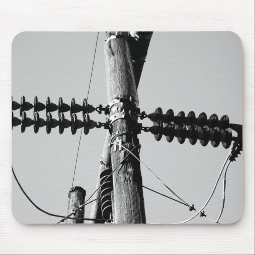 Telephone Poles Mouse Pad