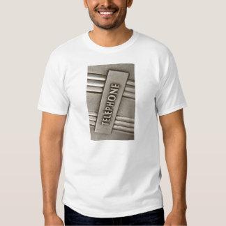 TELEPHONE SIGN. T-Shirt