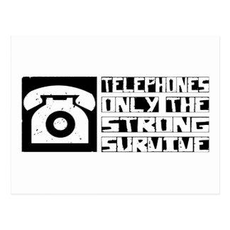 Telephone Survive Postcard
