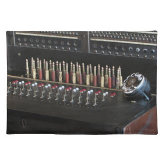 Telephone Switchboard Cloth Placemat
