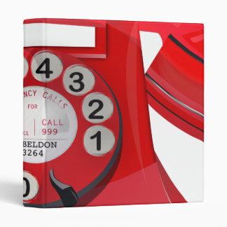 Telephone Vintage Binder