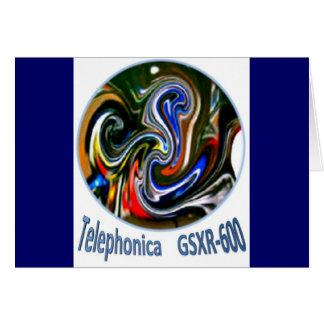 Telephonica GSXR 600 Card