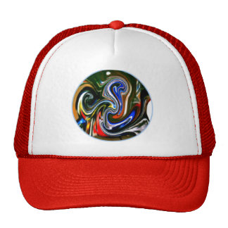 Telephonica GSXR 600 Motorcycle Art Hats
