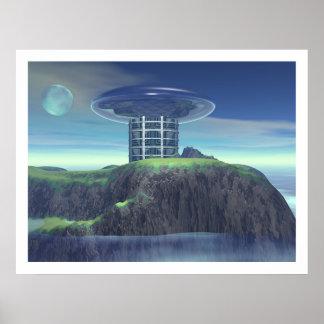Teleporter Station 3 Poster