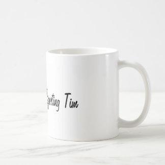 Teleporting Tim Coffee Mugs