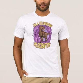 Teleporting Velociraptor T-Shirt