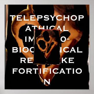 TELEPSYCHOPATHICAL IMMUNO-BIOCHEMICAL CON PÓSTER
