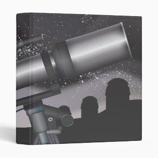 Telescope 3 Ring Binder