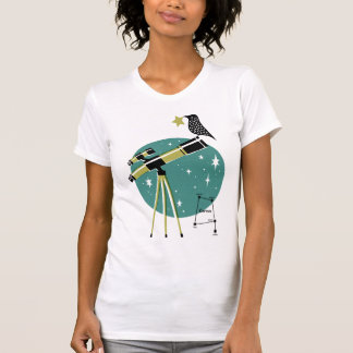 Telescope and Bird Shirt