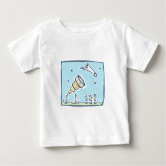 Telescope and Comet Baby T-Shirt