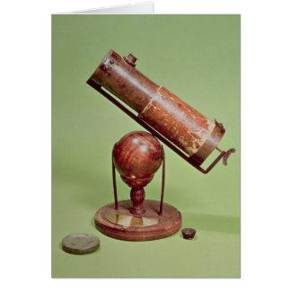 Telescope belonging to Sir Isaac Newton  1671 Card