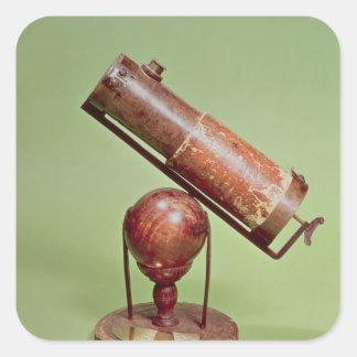 Telescope belonging to Sir Isaac Newton  1671 Square Sticker