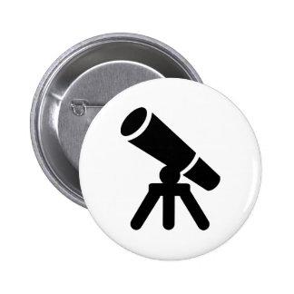 Telescope Pinback Button