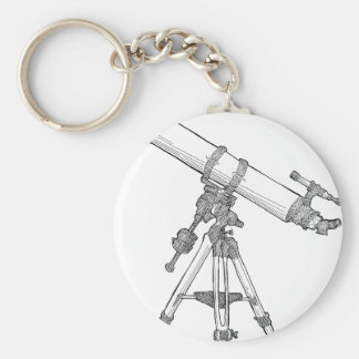 Telescope Drawing Series Keychains