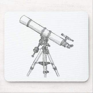 Telescope Drawing Series Mousepads