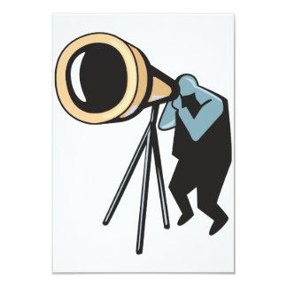 """Telescope Invitations 3.5"""" X 5"""" Invitation Card"""