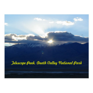 Telescope Peak in Death Valley Postcard