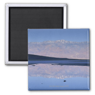 Telescope Peak reflected in pool at Badwater Magnet