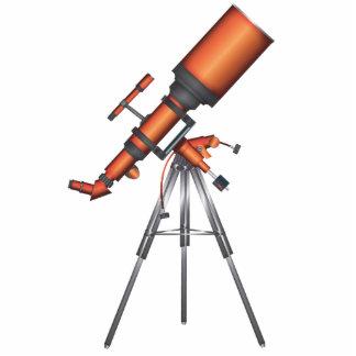 Telescope Photo Sculpture Button