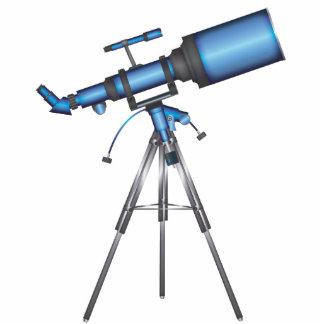 Telescope Photo Sculpture Ornament