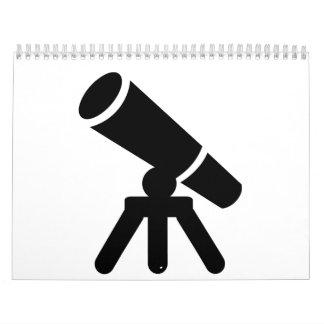 Telescopio Calendario De Pared