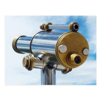Telescopio de fichas postales