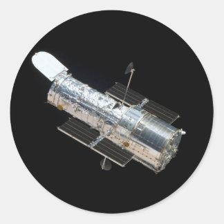 Telescopio de Hubble Pegatinas Redondas