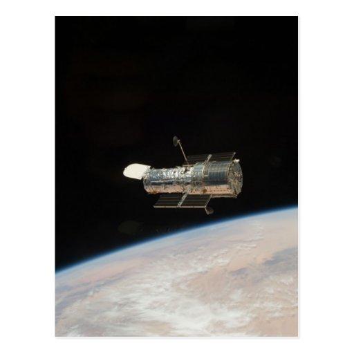 Telescopio de Hubble Tarjeta Postal