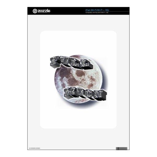 Telescopio de la Luna Llena iPad Skins
