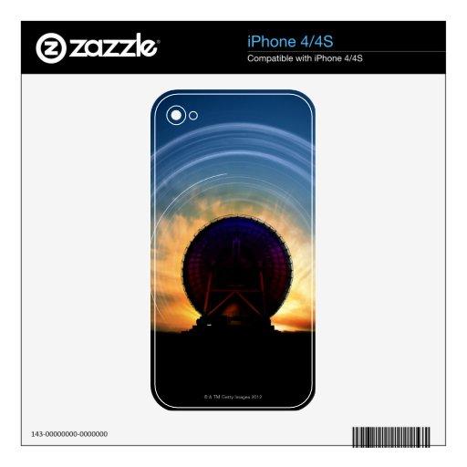 Telescopio de radio 2 skins para eliPhone 4