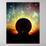 Telescopio de radio póster