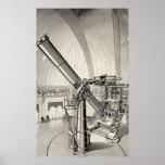 Telescopio del vintage impresiones