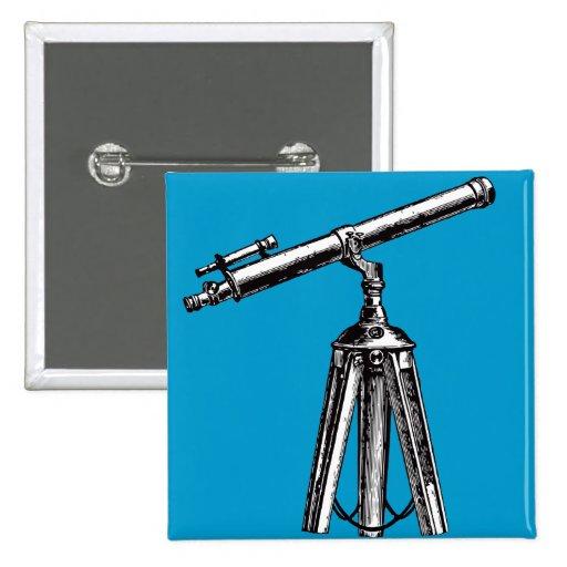 Telescopio del vintage pin