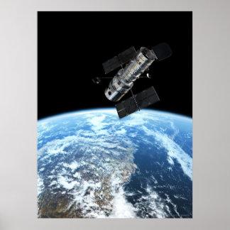 Telescopio espacial 18x24 (18x24) de Hubble Póster