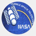 Telescopio espacial de Hubble(HST) Pegatinas Redondas