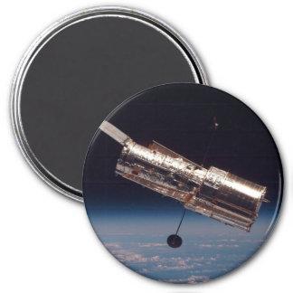 """""""Telescopio espacial de Hubble """" Imán Redondo 7 Cm"""