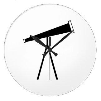 Telescopio espacial relojes de pared