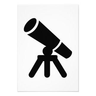 Telescopio Invitaciones Personalizada