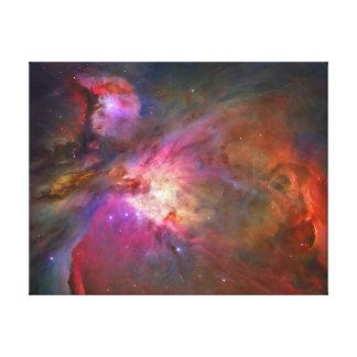 """TELESCOPIO """"nebulosa de HUBBLE de Orión"""" EN el reg Impresión En Lienzo"""