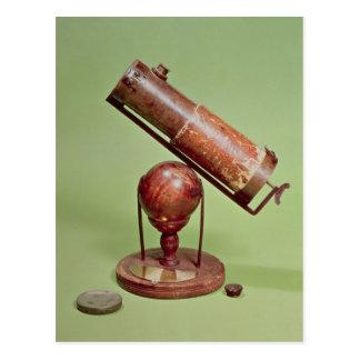 Telescopio que pertenece a sir Isaac Newton 1671 Postales