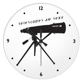 Telescopios Relojes De Pared
