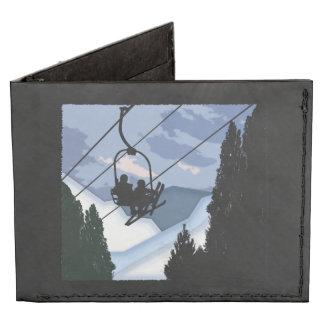 Telesilla por completo de esquiadores billeteras tyvek®