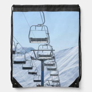 Telesillas de la montaña Nevado Mochila