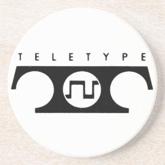 Teletype Coaster