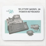 Teletype Model 28 Keyboard Mouse Pad