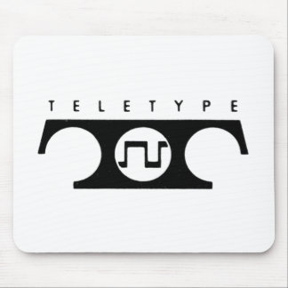Teletype Mouse Pad